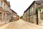 Staré město dlážděné ulici