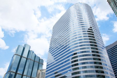 Office buildings in business center