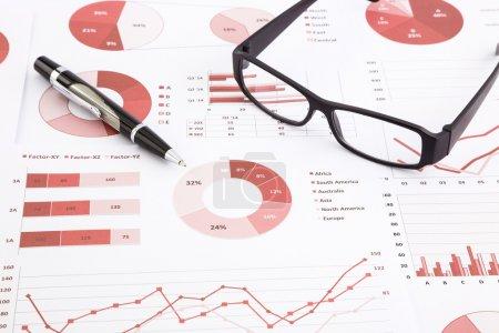 graphs, charts, data analysis and summarizing report