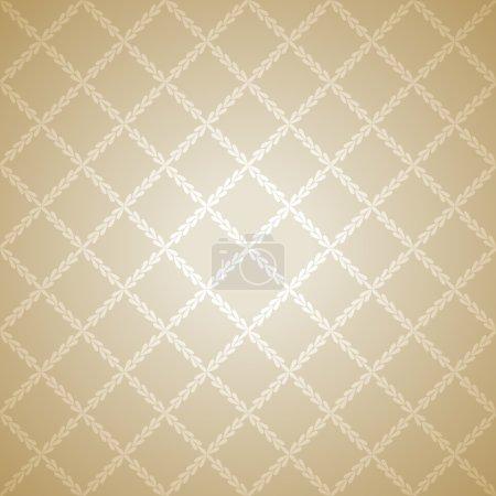 fond de texture de tissu beige. illustration vectorielle