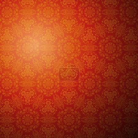 Chinese pattern background. Vector illustration fo...