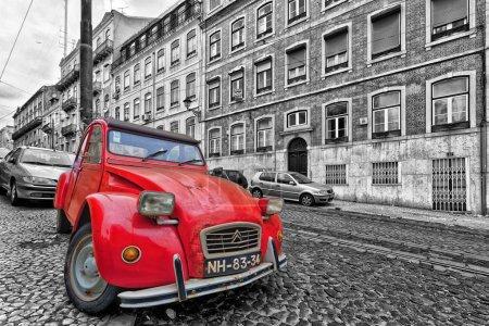 Lisbon 2CV retro car