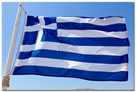 The Greek National flag