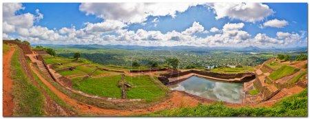 ruines à sigiriya rock à kandy. Sri lanka
