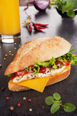 Kuřecí sendvič
