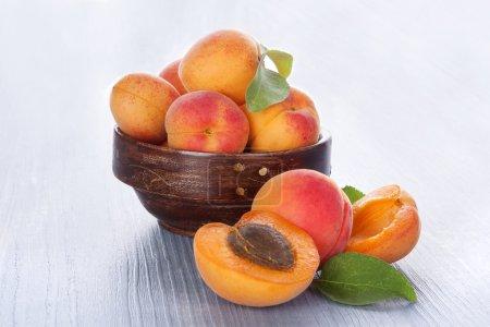 Delicious apricots.