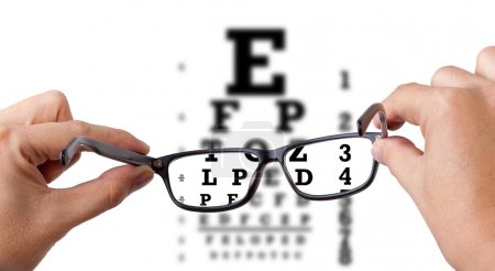 Photo for Eye test - Royalty Free Image