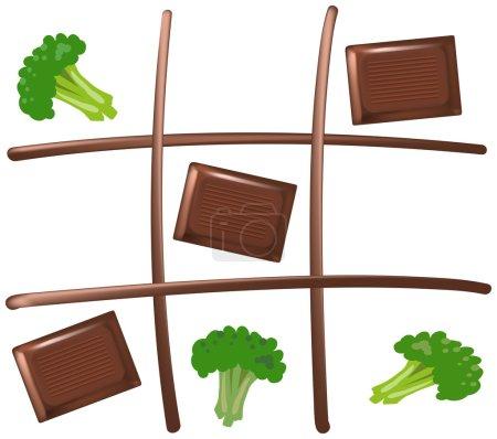 Tic Tac Toe Chocolate