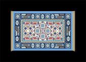 Carpet Blue