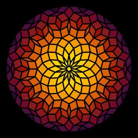 Penrose Pattern Leadlight