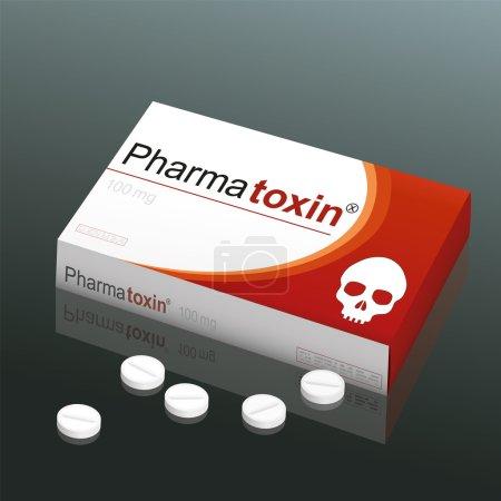 Pills Pharmatoxin Skull