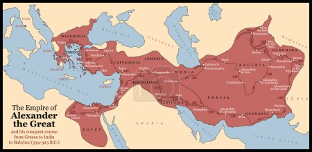 The Empire of Alexander the Great an his conquest ...