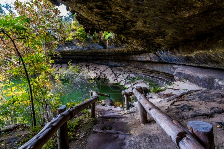 Entrance to Hamilton Pool Sink