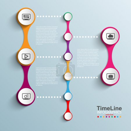 Time Line design template