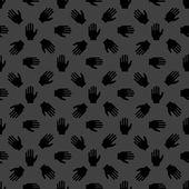Hand web icon flat design Seamless pattern Vector EPS10