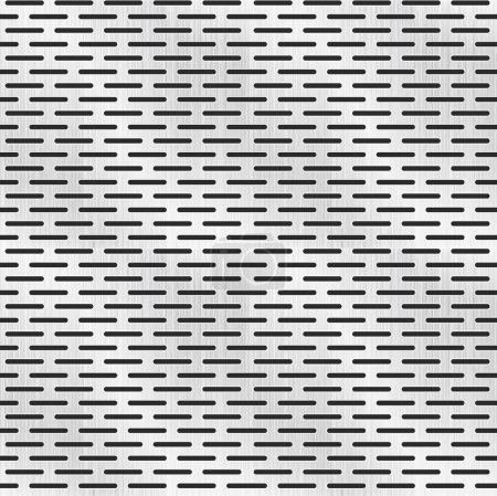 perforated metal texture, seamless pattern