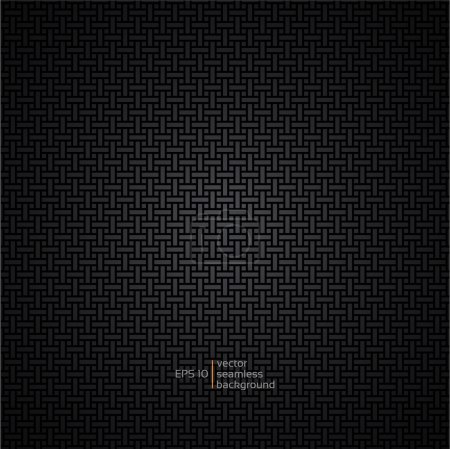 Carbon metallic seamless pattern design