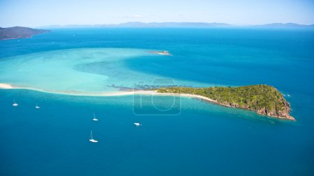 Tropical Whitsundays Island