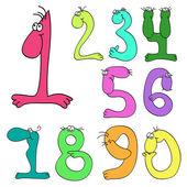 Set of amusing figures (vector)