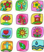 Ikony - zahradní