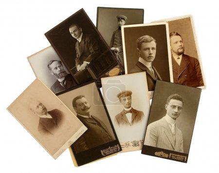 Antique photo of men