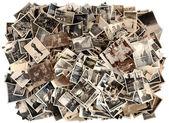 Spousta starých černobílých fotografií