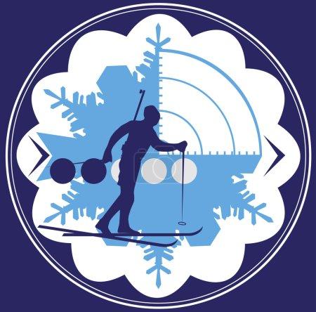 Biathlon emblem