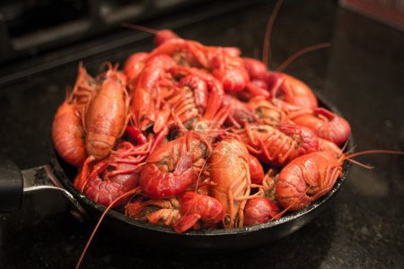 Skillet Full of Crawfish