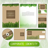 Corporate indentity for eco company