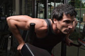 Man Exercising Arm Muscles 3