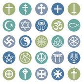 Sada náboženských symbolů