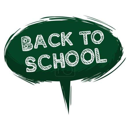Green Bubble Back to School.