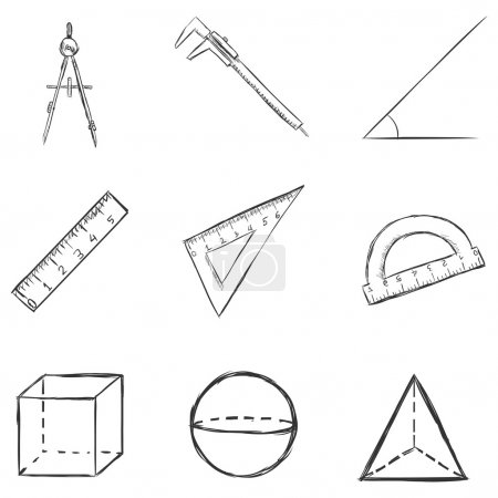 Sketch  Geometry  Icons