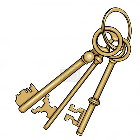Antique Keys set