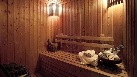 salle de bain de vapeur