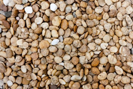 Smooth beach stones background