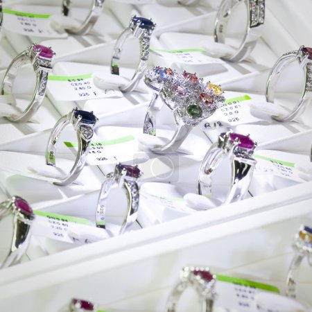 anneaux bijoux