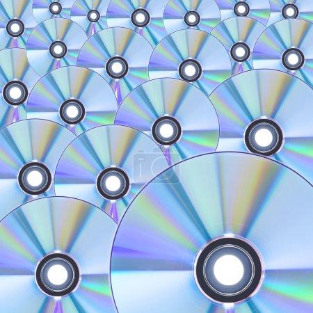 Foto de Patrón de CD - Imagen libre de derechos