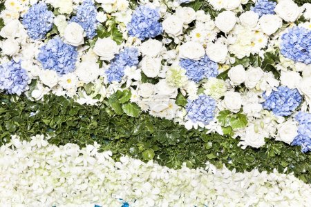 Photo for Beautiful flower wedding decoration - Royalty Free Image