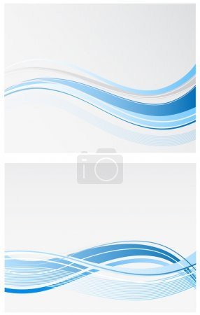 Illustration for Wave abstract background - Royalty Free Image