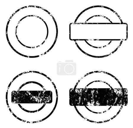 stamp seal balnk template