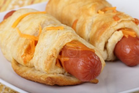Crescent Roll Hot Dogs