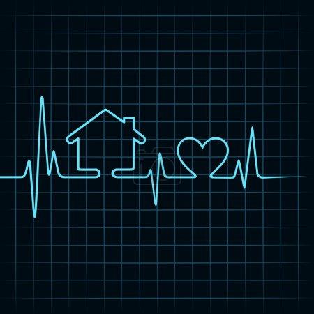Heartbeat make a home and heart