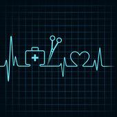 Heartbeat make a first aid boxscissor heart