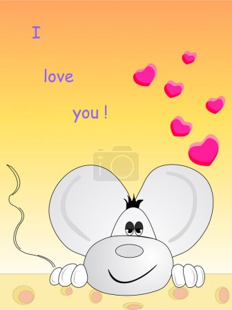 In love mouse