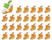 Ireland provinces maps
