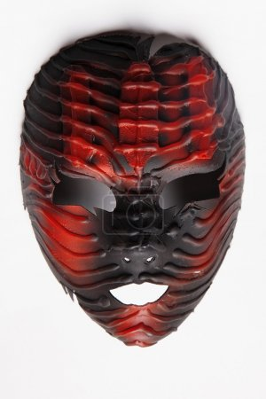 Red decorative mask