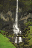 Tall Icelandic waterfall