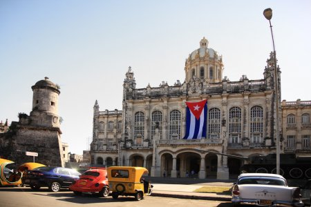 Revolution Museum in Havana Cuba also known as Mus...