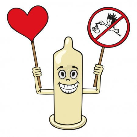 Condom is one of the best defenses against unwanted pregnancy.